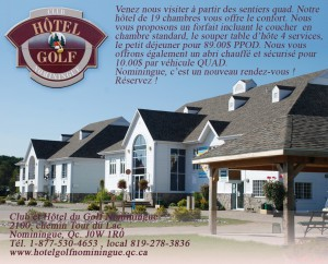 Hôtel du Golf Nominingue